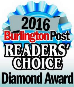 Burlington's Choice Award Winner for Music Lessons